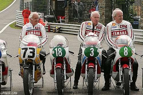 Kel Carruthers, Rodney Gould and Chas Mortimer